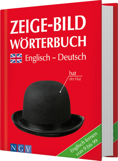 Zeige-Bild Wörterbuch Englisch-Deutsch.