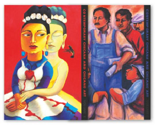 Zeitgenössische »Chicana und Chicano«-Kunst. Künstler, Arbeiten, Kultur und Bildung. 2 Bände.