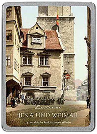 Zeitreise Weimar und Jena. Postkarten-Set.