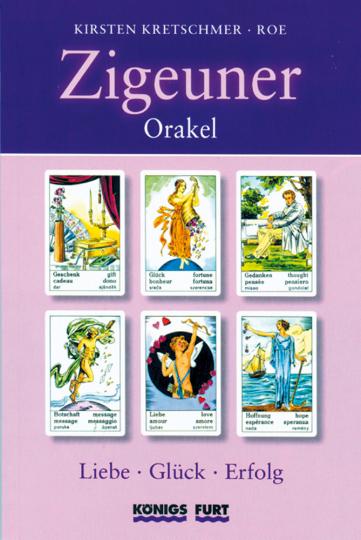 Zigeuner-Orakel Buch & Karten