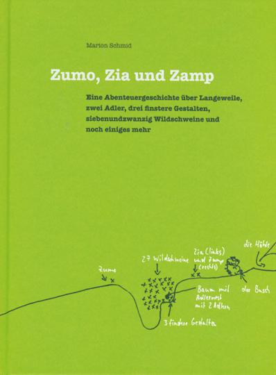 Zumo, Zia und Zamp.