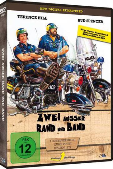 Zwei außer Rand und Band. DVD.