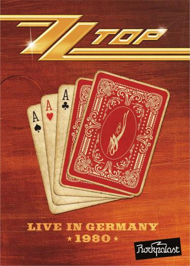 ZZ Top. Live in Germany. DVD.