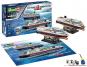 125 Jahre Hurtigruten. MS Trollfjord und MS Midnatsol. Modellbausatz. Bild 1