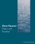 Anne Hausner. Struktur und Natur. Bild 1