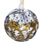 Cloisonné-Christbaumkugel »Schmetterling«. Bild 1