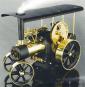 Dampftraktor (schwarz/ messing) Bild 1