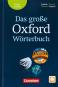 Das große Oxford Wörterbuch. Englisch-Deutsch / Deutsch-Englisch. 3. Auflage. Bild 1