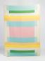 Decke »Mikkel«, pastell. Vom Bauhaus inspiriert. Bild 1