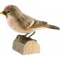 Deko-Vogel Birkenzeisig. Bild 1