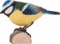 Deko Vogel Blaumeise. Bild 1