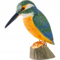 Deko-Vogel Eisvogel. Bild 1