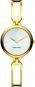 Designer Uhr für Damen aus vergoldetem Edelstahl. Bild 1