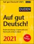 Duden. Auf gut Deutsch! Kalender 2021. Rechtschreibung, Grammatik und Wortwahl einfach erklärt. Bild 1