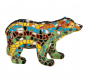 Eisbär aus Mosaik. Bild 1