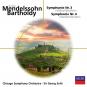 Felix Mendelssohn Bartholdy. Symphonien Nr.3 & 4. CD. Bild 1