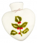 Filz Wärmflasche »Ilex«, weiß. Bild 1