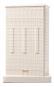Modell-Replik und Buchstütze »Flatiron Building«. Bild 1