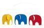 Flensted Mobile »Elefantenparty«. Bild 1