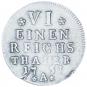 Friedrich II. Münze - 1/6 Silbertaler Bild 1