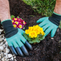 Gartenhandschuhe mit Krallen. Bild 1