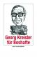 Georg Kreisler für Boshafte. Bild 1