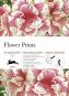 Geschenkpapier Blumenmotiv. Bild 1