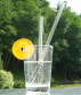 Glas-Trinkhalme, 5er-Set. Bild 1