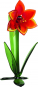 Glasblume »Amaryllis«. Bild 1