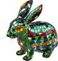 Hase aus Mosaiksteinen. Bild 1