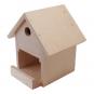 Holzbau-Set Vogelhaus. Bild 1