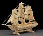 Holzbausatz Segelschiff. Bild 1