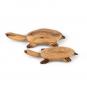 Holztier Schildkröte. Bild 1