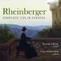 Josef Rheinberger. Sonaten für Violine & Klavier Nr.1 & 2. CD. Bild 1