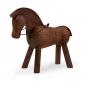 Kay Bojesen Holzfigur »Pferd, dunkel«. Bild 1