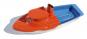 Kerzenboot mit Hütte, farblich gemischt. Bild 1