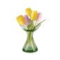 Kerzenhalter & Vase aus Waldglas, klein. Bild 1