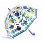 Kinderregenschirm »Fische« mit Farbwechsel. Bild 1