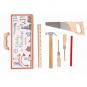 Kleiner Werkzeugkoffer für Kinder. Bild 1