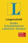 Langenscheidt Großes Schulwörterbuch Lateinisch-Deutsch. Bild 1