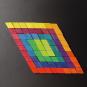 Magnet-Relief Mosaik, Rhomben. Bild 1
