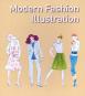 Modern Fashion Illustration. Grundlagen der modernen Modezeichnung. Bild 1