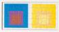 MoMA Josef Albers Holzpuzzle-Set. 6 Puzzle in einer Box. Bild 1