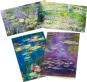 Monet Grußkartenset mit Briefumschlägen. Bild 1