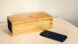 Music Click Clock: Holz-Klangkörper mit High-Tech-Kern - Bluetooth Musikanlage und Wecker Bild 1