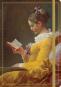 Notizbuch Jean-Honoré Fragonard »Die Lesende«. Bild 1