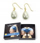 Ohrringe nach Vermeers »Das Mädchen mit dem Perlenohrgehänge«. Bild 1