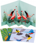 Pop-up-Grußkarten-Set »Die Vögel«. Bild 1