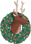 Rentier-Weihnacht. 3D-Wandkalender. Bild 1