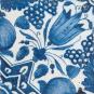 Replik Delfter Fliese »Eine Tulpe«, blau/weiß. Bild 1